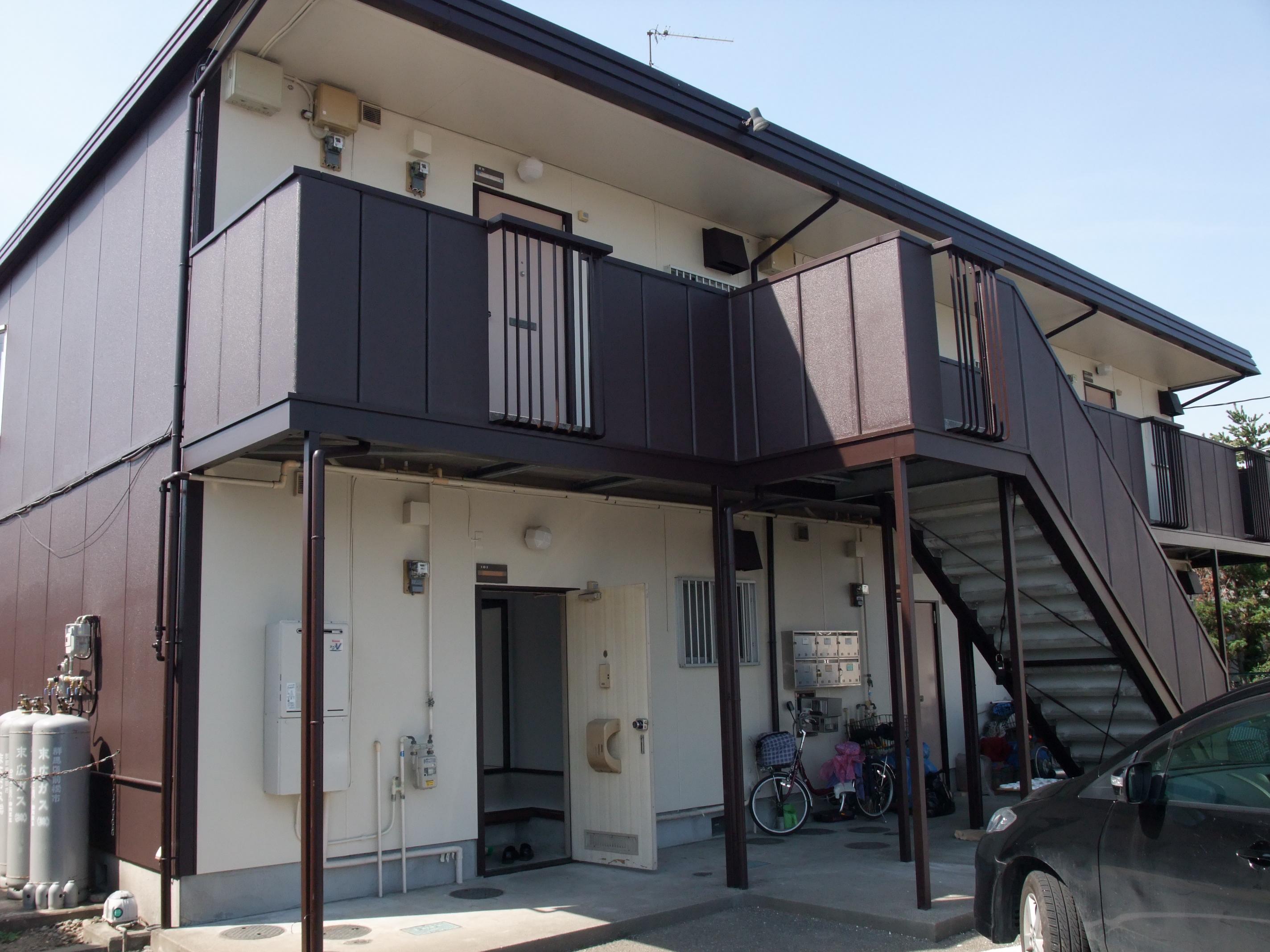 伊勢崎市山王町 2DK リフォーム済 礼金・敷金・仲介0円